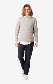 Boomerang - Axel linen sweater - Dark putty