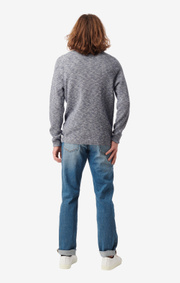 Boomerang - HENRY O-NECK SWEATER - Midnight blue