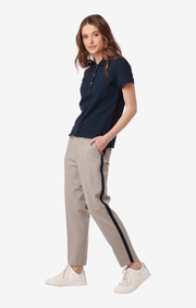 Ditte stripe trousers