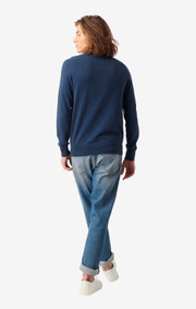 Boomerang - Danny v-neck sweater - Midnight blue