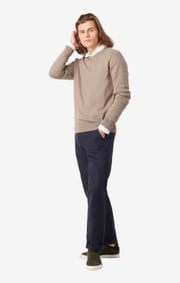 Boomerang - Danny v-neck sweater - Dark putty
