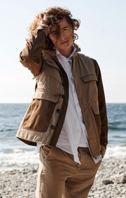 Boomerang - William pocket jacket - Beige
