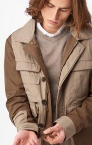 Boomerang - William pocket jacket - Beige