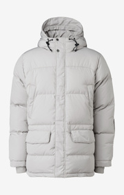 Boomerang - ALEXANDER DOWN JACKET - Dark putty