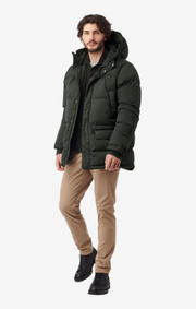 Boomerang - ALEXANDER DOWN JACKET - Winter moss