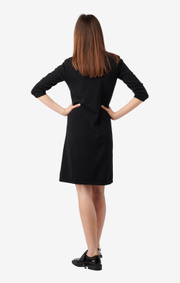 Boomerang - LOU KNITTED DRESS - Black