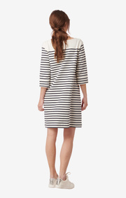 LYKKE STRIPED JERSEY DRESS