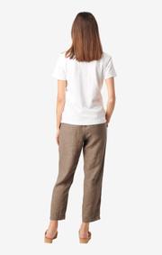 Boomerang - LISA PIQUET SHIRT - White