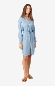 Boomerang - GERDA DRESS INDIGO - Light indigo