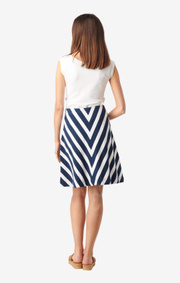 Boomerang - ELINA PIQUE SKIRT - Bright nautic
