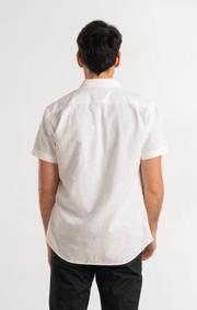 Boomerang - LEIF S.S. SHIRT - White
