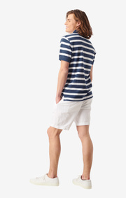 Boomerang - JOE ORGANIC COTTON POLO PIQUÉ - Bright nautic