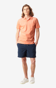 Boomerang - JAMES ORGANIC COTTON VACAY PIQUE - Satsuma