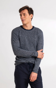 Boomerang - TONY O-NECK SWEATER - Bright nautic
