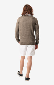 Boomerang - TONY O-NECK SWEATER - Taupe