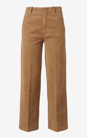 Boomerang - agneta cord trouser - Golden beige