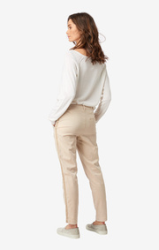 Boomerang - DITTE CHINOS - Feather beige