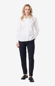Boomerang - emelie poplin shirt - White