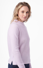 Boomerang - RUNA FLUFF SWEATER - Purplish