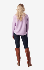 Boomerang - plopp boomwool sweater - Purplish