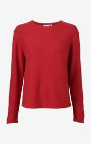 Boomerang - PLOPP BOOMWOOL SWEATER - Cadmium red