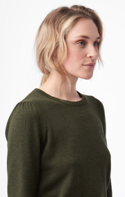 Boomerang - jaqueline top - Winter moss