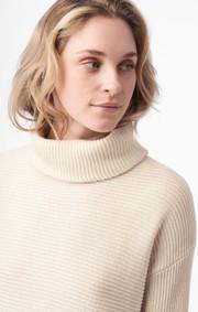 Boomerang - daniella polo sweater - Offwhite