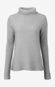 Boomerang - DANIELLA POLO SWEATER - Grey melange