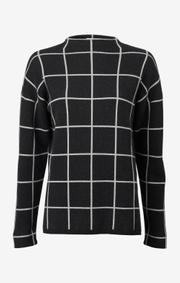 Boomerang - luna sweater - Antracite