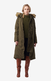 Boomerang - smilla down coat - Winter moss