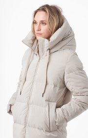 Boomerang - jossan cozy down jacket - Dark putty