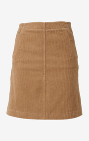 Boomerang - catti cord skirt - Golden beige