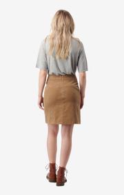 Boomerang - catti cord skirt - Golden beige