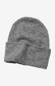 Boomerang - fluff cap - Grey melange