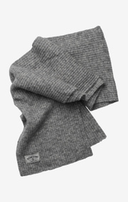 Boomerang - fluff scarf - Grey melange