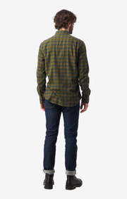 Boomerang - FRANS FLANNEL SHIRT - Taupe