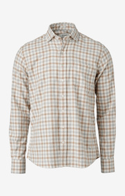 Boomerang - frans flannel shirt - Offwhite