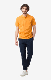 Boomerang - joe organic cotton polo piqué - Honey Yellow