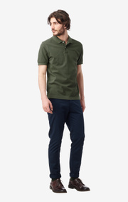 Boomerang - JOE ORGANIC COTTON POLO PIQUÉ - Greta green