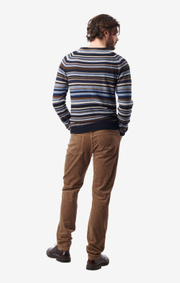 Boomerang - jocke multistripe sweater - Night sky
