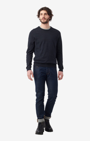Boomerang - DAN SUSTAINABLE SWEATER - Night sky