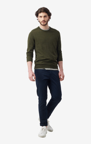 Boomerang - DAN SUSTAINABLE SWEATER - Winter moss