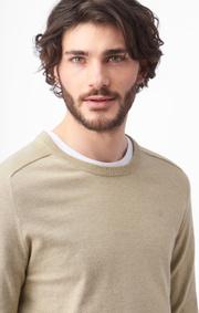Boomerang - dan sustainable sweater - Beige