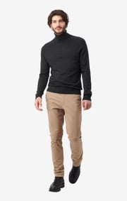 Boomerang - DENNIS SUSTAINABLE SWEATER - Antracite