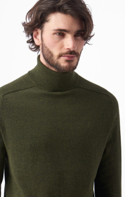 Boomerang - DENNIS SUSTAINABLE SWEATER - Winter moss