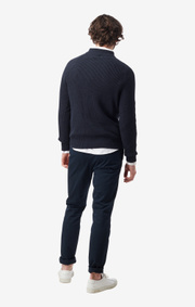 Boomerang - BJÖRN CREW NECK SWEATER - Night sky