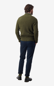 Boomerang - björn crew neck sweater - Winter moss