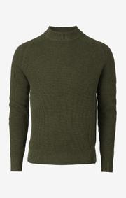 Boomerang - björn crew neck sweater - Winter moss