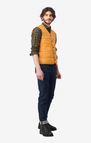Boomerang - lee indoor gillet - Honey yellow