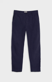 Boomerang - GRETA LINEN TROUSER - Night sky